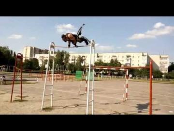 Alexandr Tiko pole-jump-workout style
